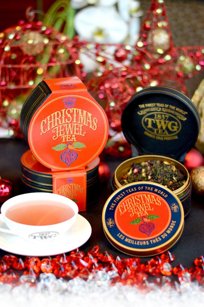 Christmas Jewel Tea, TWG Tea, The Urban Tea Merchant