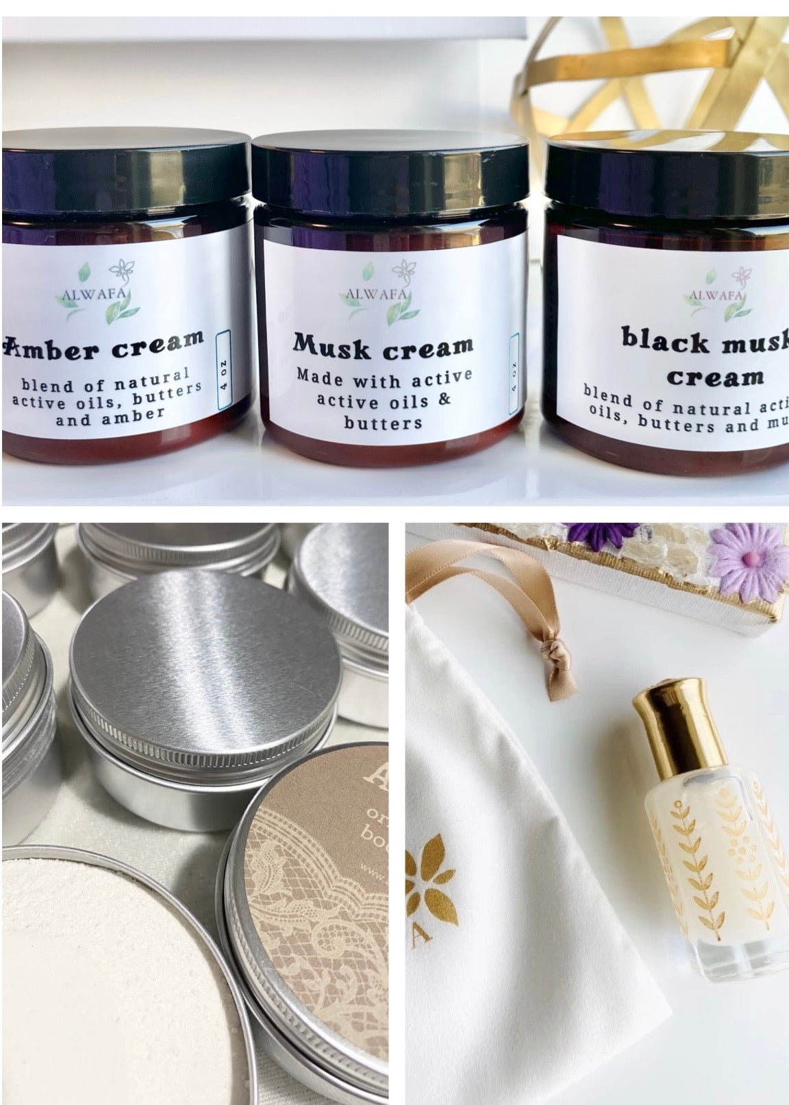 Musk products set