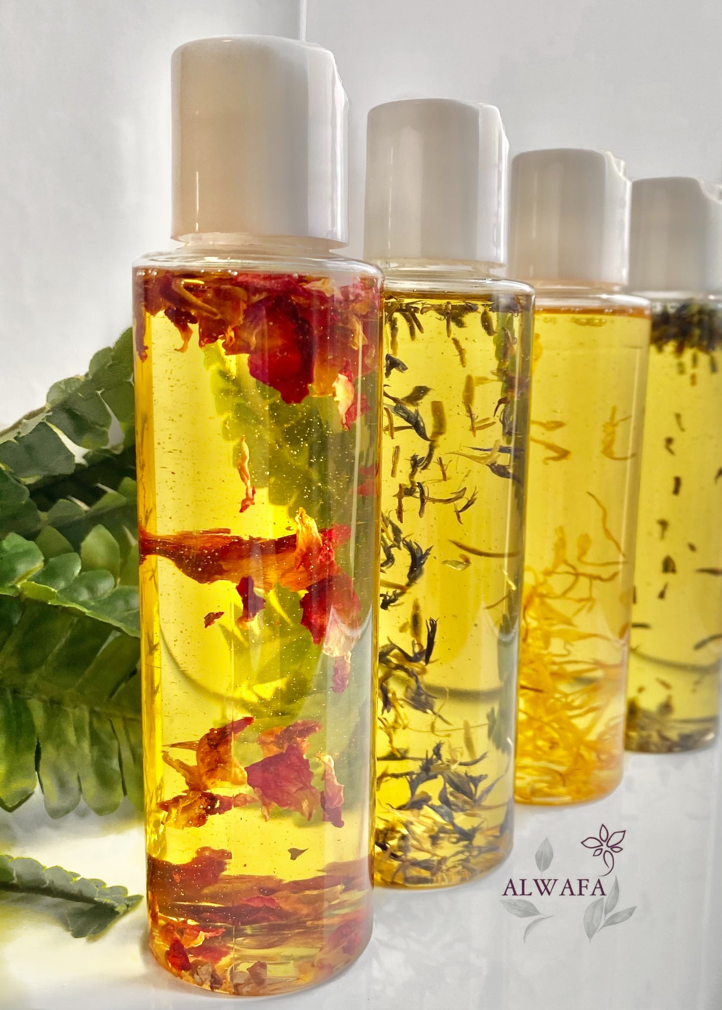 Luxury Botanical oil-set of 4