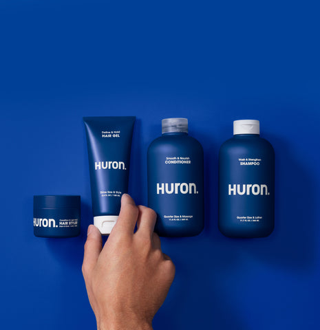 Huron hair products for healthy scalp and hair