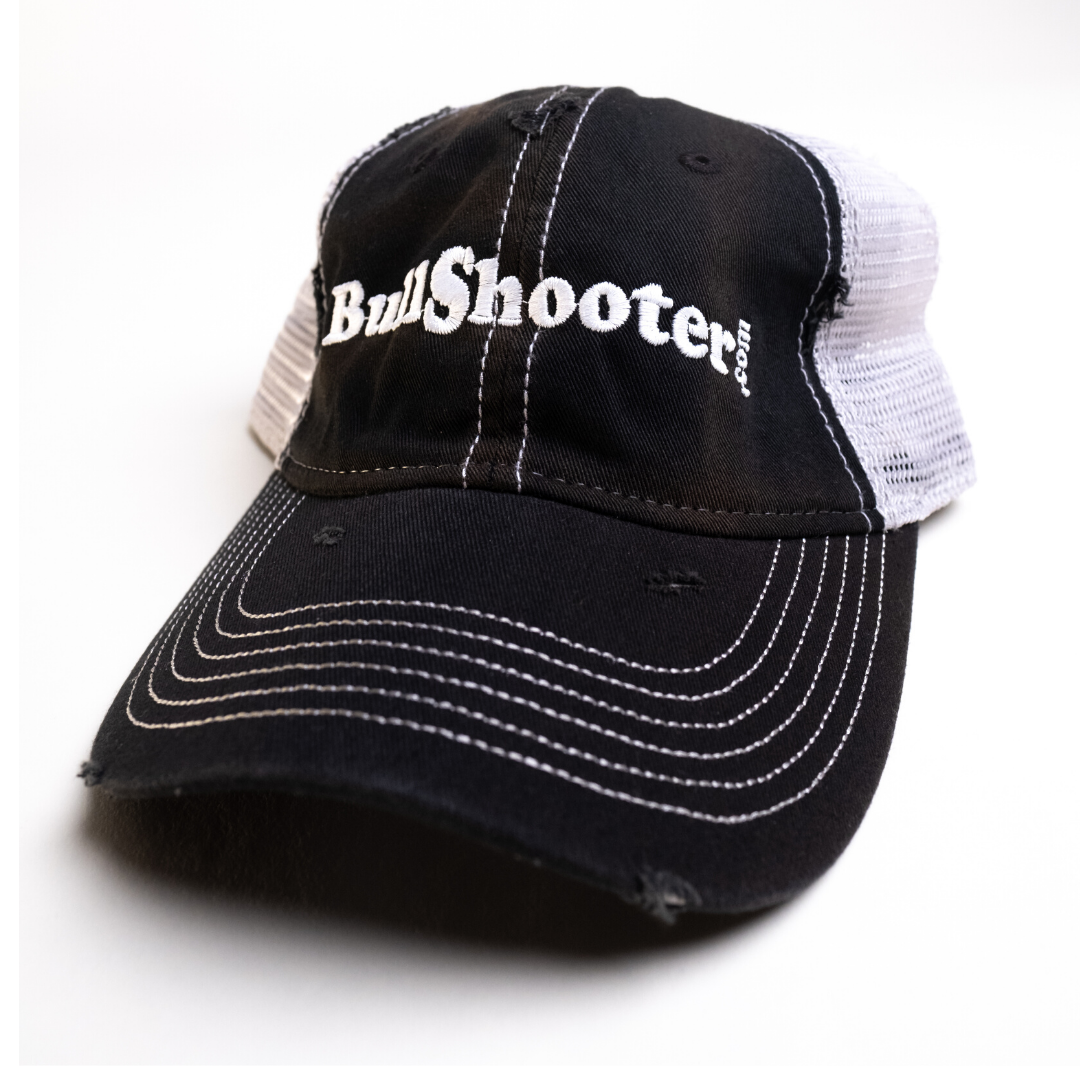 Worn Trucker Black/White