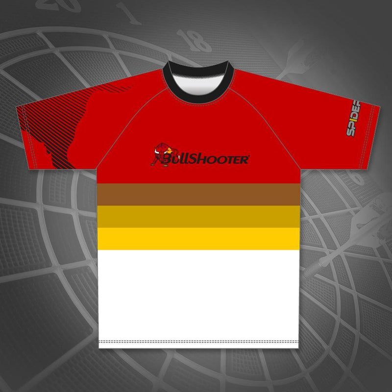 SS Jersey Red Yellow Stripe