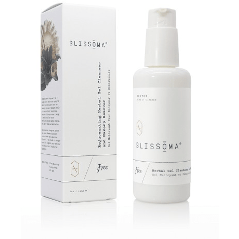 Blissoma Cleansers Free Rejuvenating Herbal Gel Cleanser + Makeup Remover