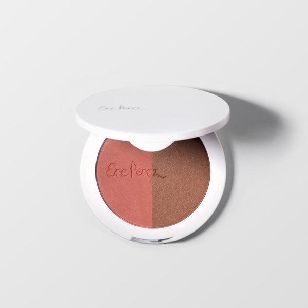 Ere Perez Cheeks Rice Powder Blush & Bronzer-Brooklyn