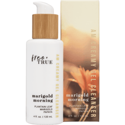 Free + True Cleansers Marigold Morning AM Creamy Gel Cleanser