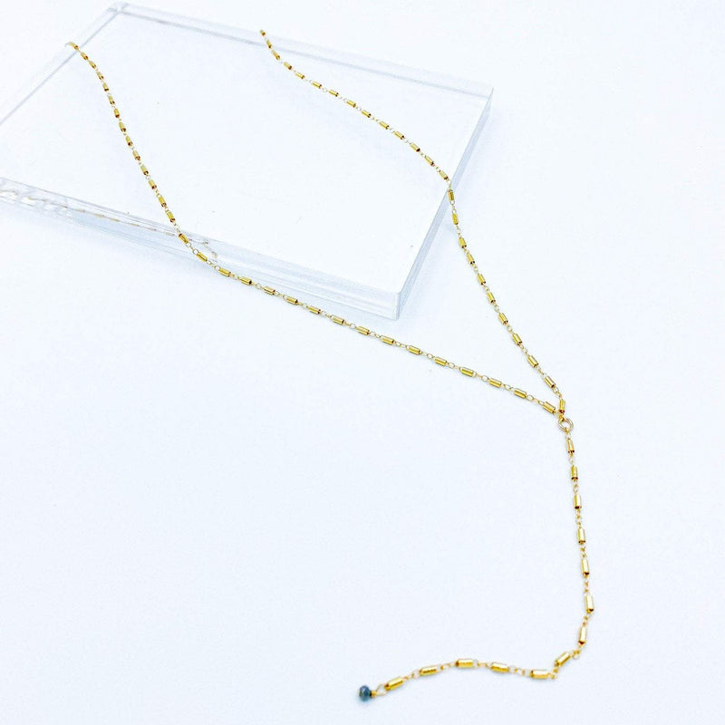 Katie Waltman Jewelry Lariat Link Necklace