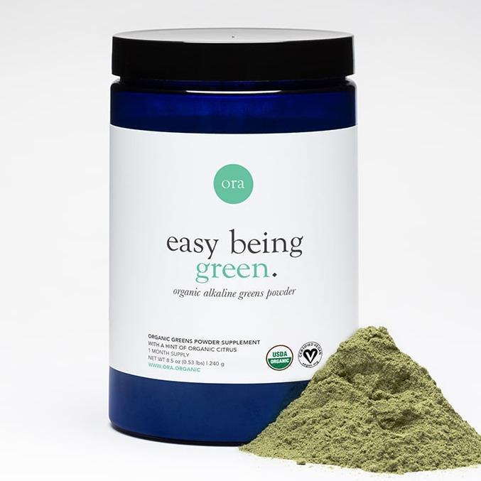 Ora Organic Supplements Organic Greens Powder