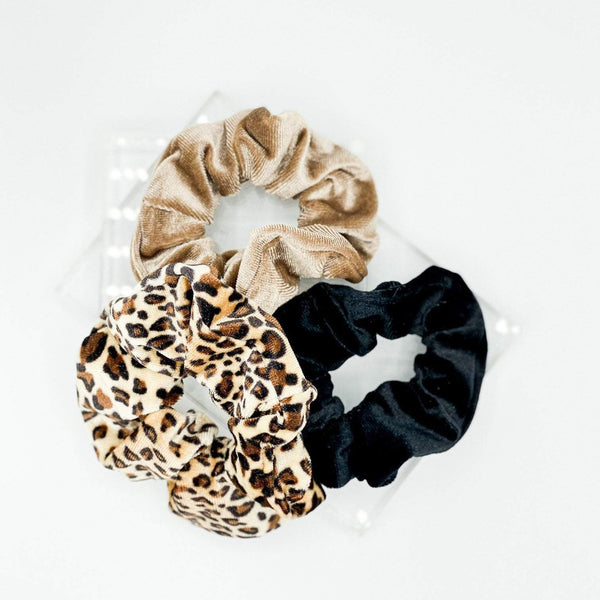 Paris Laundry Accessories Sonny Scrunchie Set
