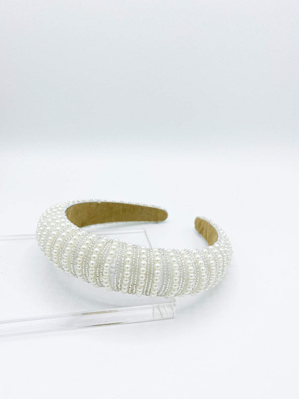 Paris Laundry Accessories Wren Pearl Embellished Headband
