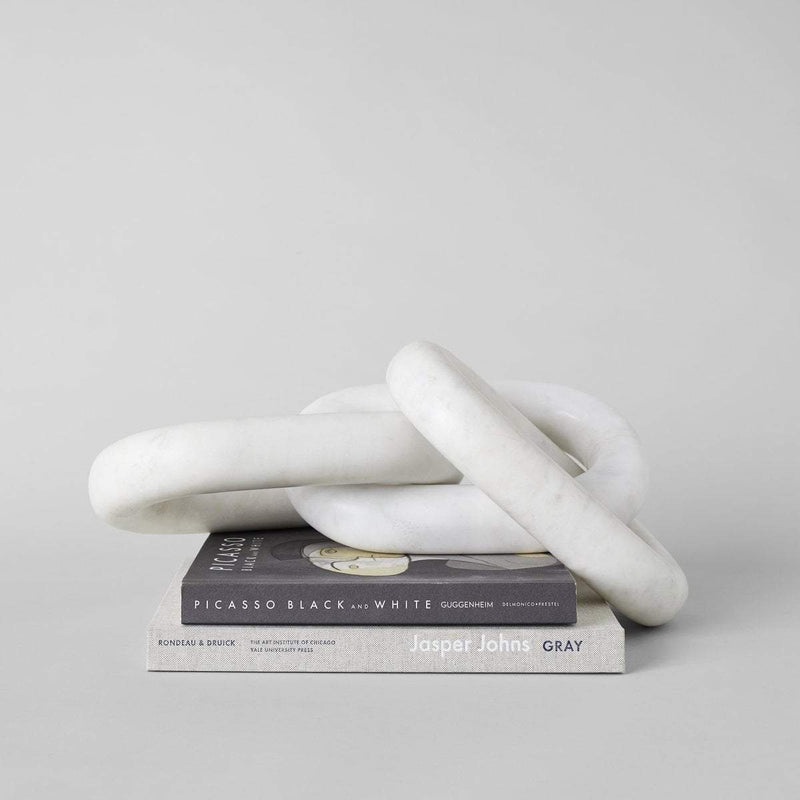 Paris Laundry Home White Marble Chain