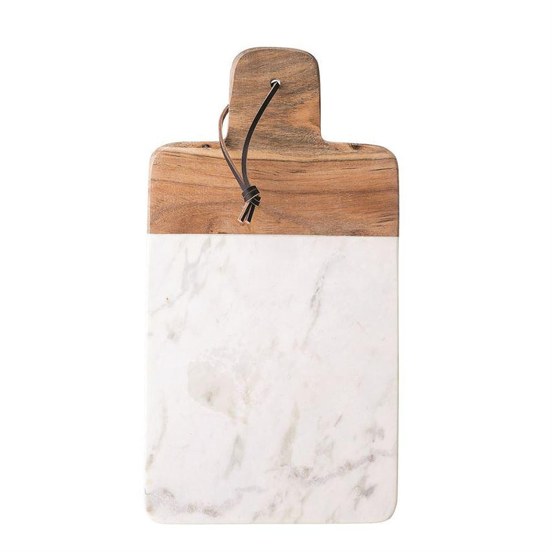 Paris Laundry Kitchen Marble & Mango Wood Tray/Cutting Board