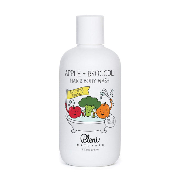 Pleni Naturals Kids Apple + Broccoli Hair & Body Wash