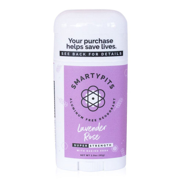 SmartyPits Deodorants Super-Strength Formula- Lavender Rose