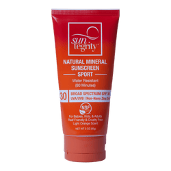 Suntegrity sun care Suntegrity Sport Natural Mineral Sunscreen 3 oz. - Broad Spectrum SPF 30