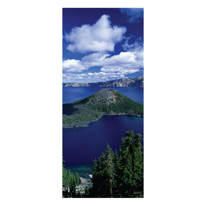 Crater Lake National Park Wizard Island Photo Scarf