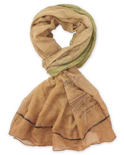 Mesa Verde National Park Map Scarf - McGovern & Company