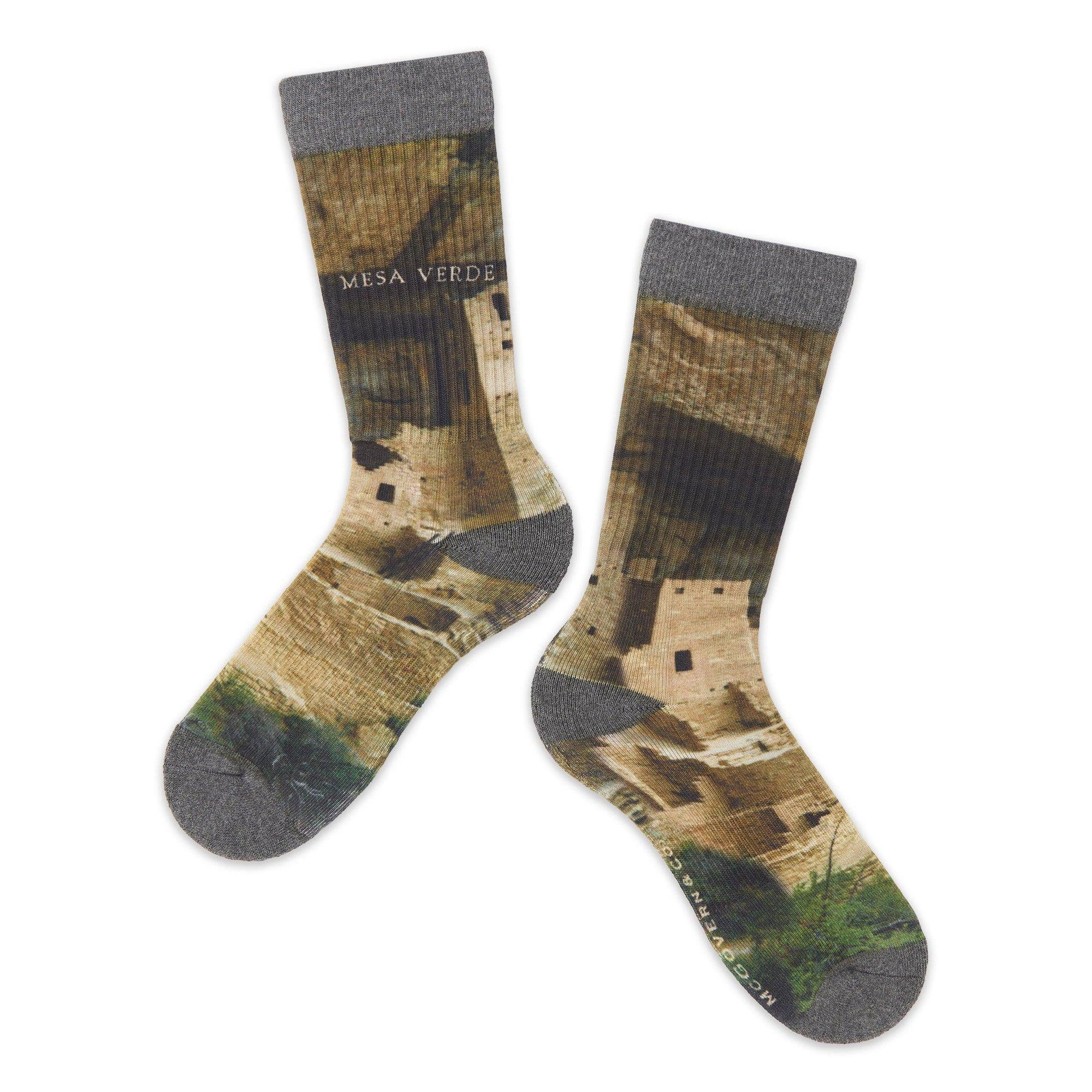 Mesa Verde National Park Photo Socks