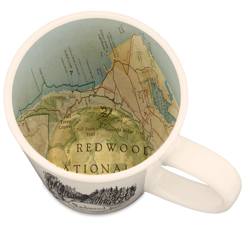 Redwood National and State Parks Map Mug