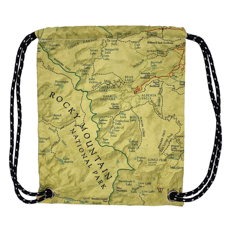 Rocky Mountain National Park Map Daypack