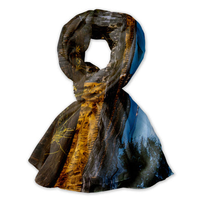 San Juan Sentry Tower Photo Scarf