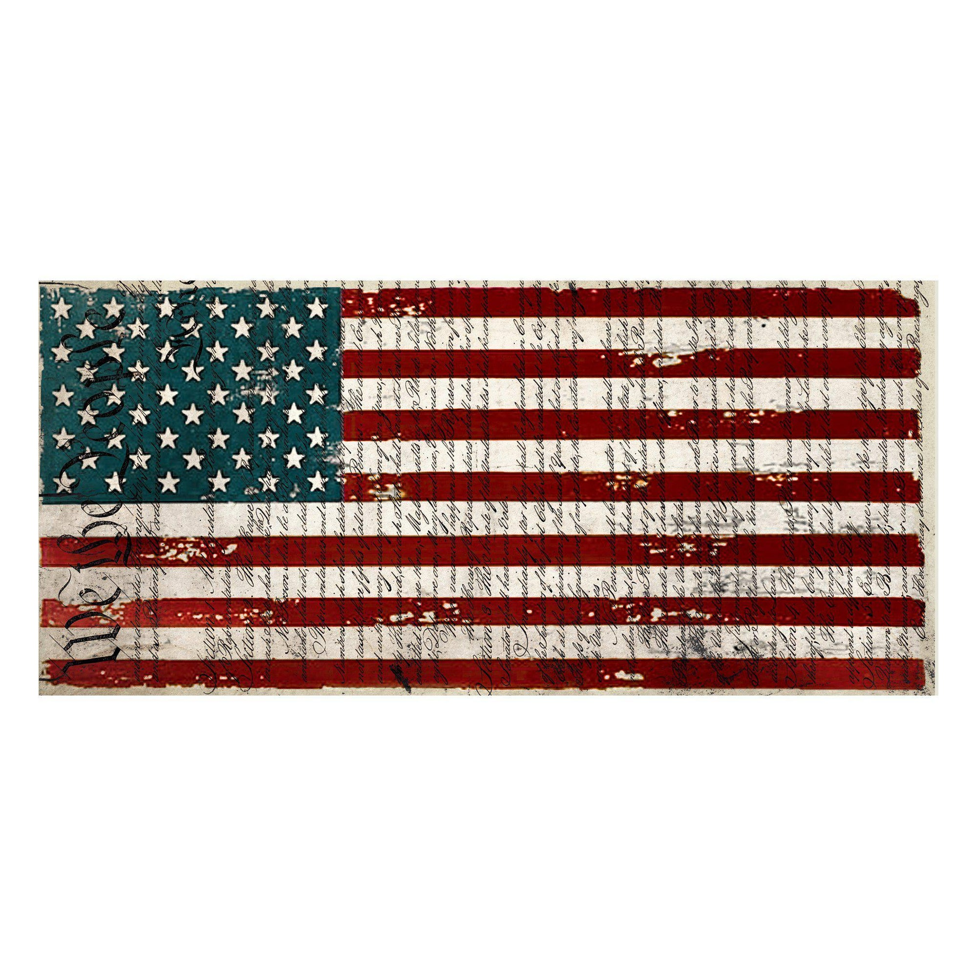 Usa Flag Scarf National Park Apparel Gifts Mcgovern Co