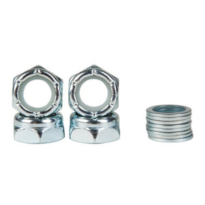 june-axle-nut-kit-silver