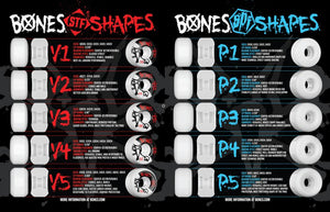 Bones Wheels - STF Blank V3 - Various Sizes