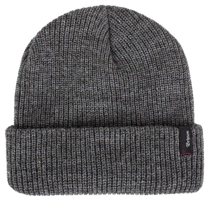 brixton-heist-beanie-heather-grey