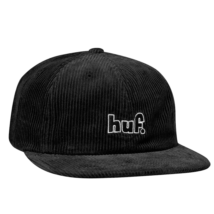 huf-1993-logo-6-panel-black