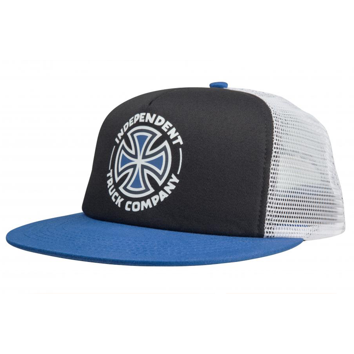 independent-meld-mesh-cap-black-harbour-blue-white