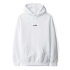 June - Classic Text Mens Hoodie - White
