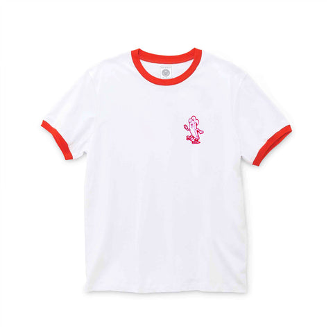 June-Banana-Dude-Girls-Tee-White-Red