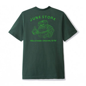 June-Hole-Food-Specialists-Mens-Tee-Green-Green-back-print