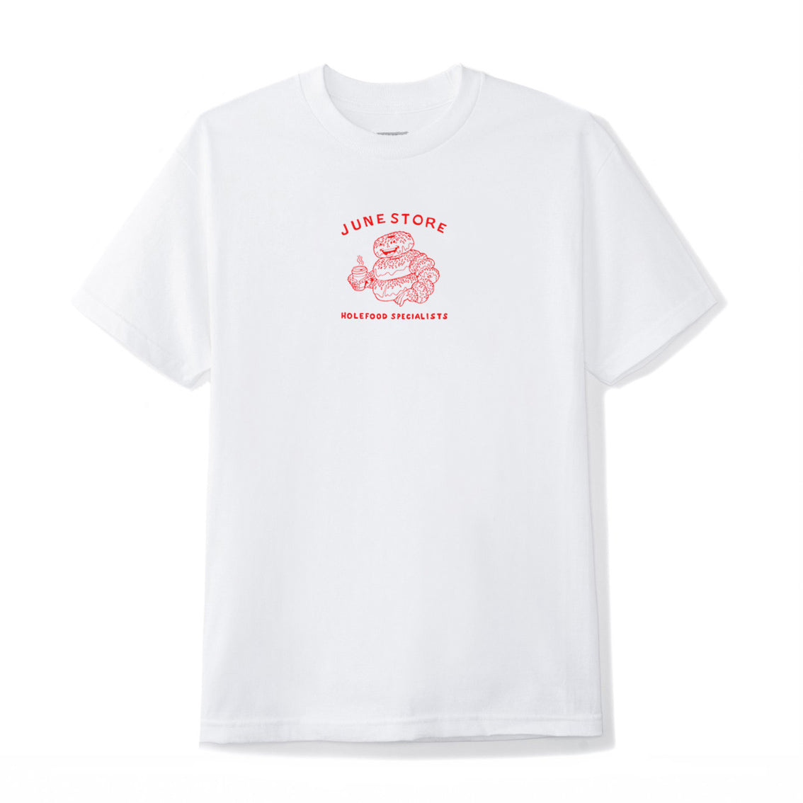 june_hole_foods_tee_white_red_front