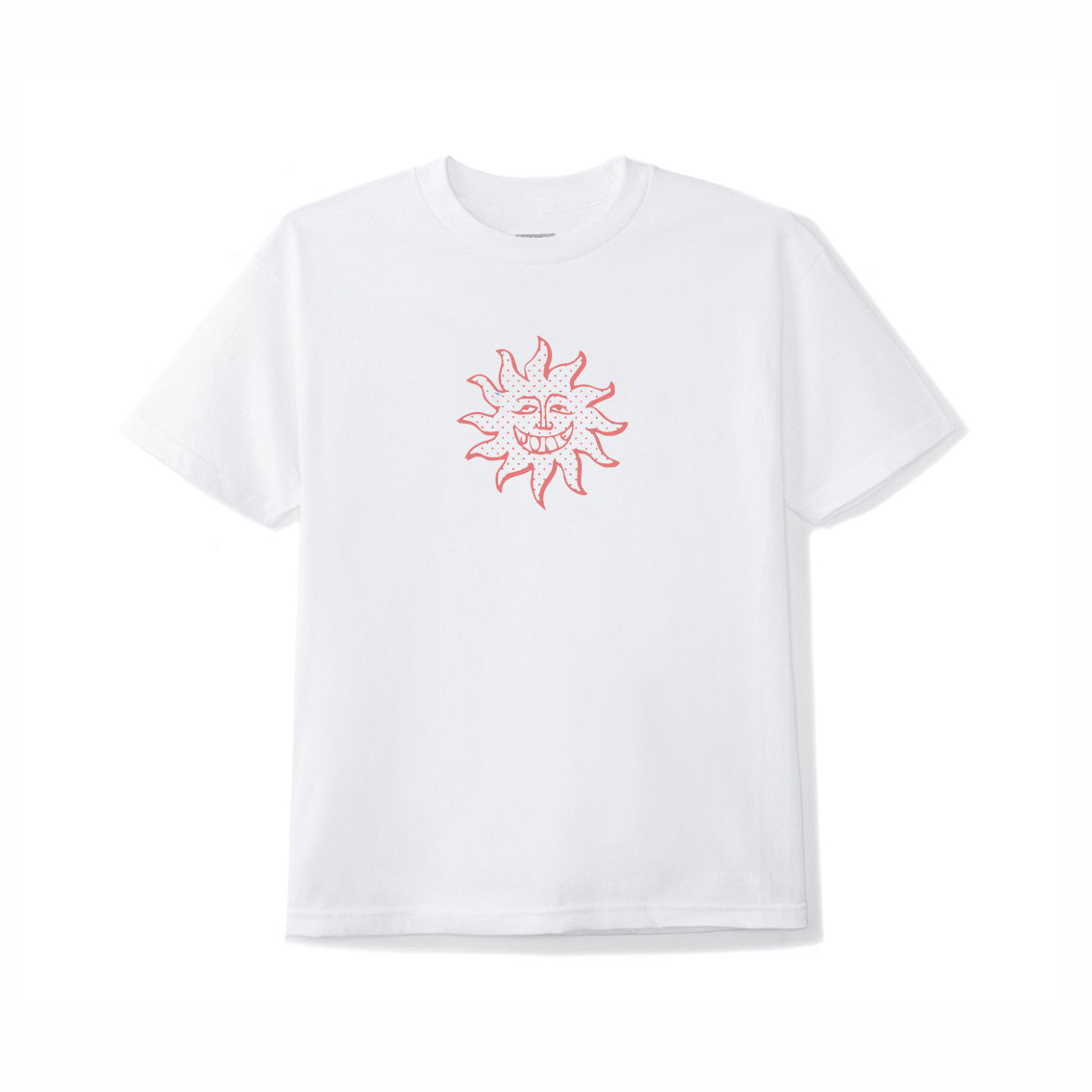 June_Sun_Dude_Youth_Tee_White_Red_Front