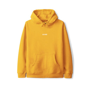 June - PUFF! Youth Hoodie - Gold, White