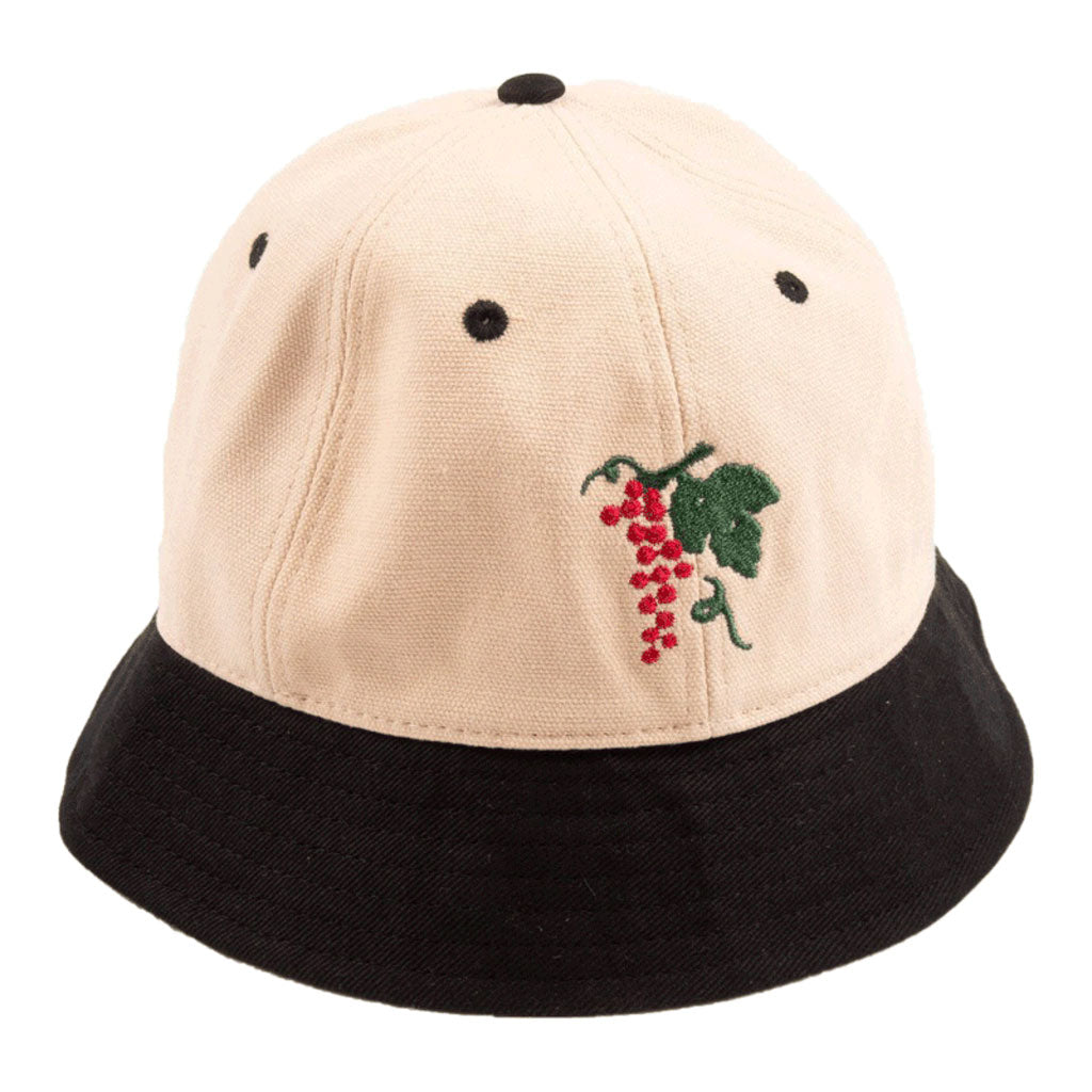 pass-port-life-of-leisure-6-panel-bucket-hat-black-natural