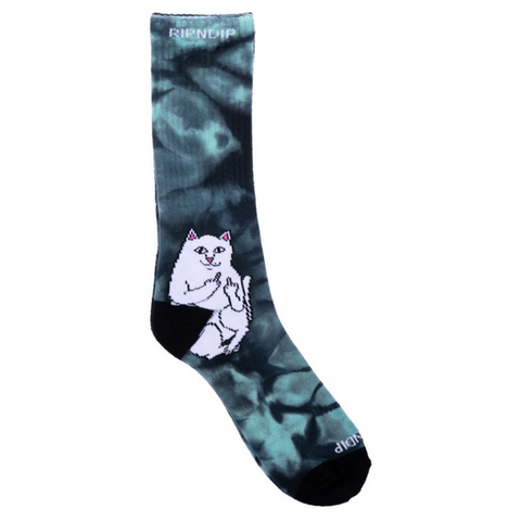 rip-n-dip-lord-nermal-socks-green-tie-dye