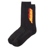 santa-cruz-flaming-strip-sock-black