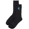 santa-cruz-screaming-mini-hand-sock-black