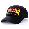 thrasher-flame-old-timer-cap-black