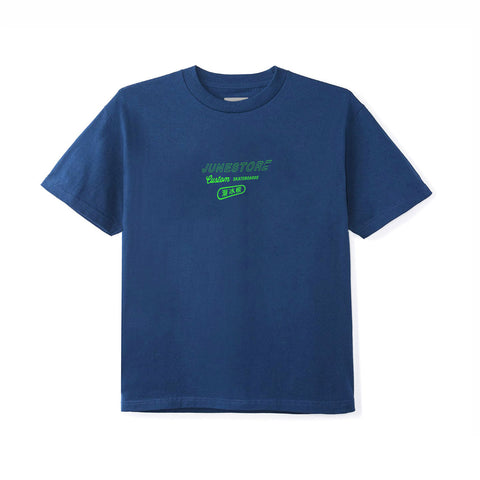 June - Custom Youth Tee - Navy, Green