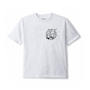 June - YO! Youth Tee - Grey, Black