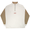 yardsale-pipeline-quarterzip-mens-jumper-cream-brown