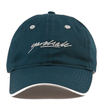 yardsale-script-cap-dark-green
