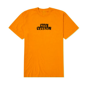 Hot Forrest - Record Hand Mens Tee - Orange, Black