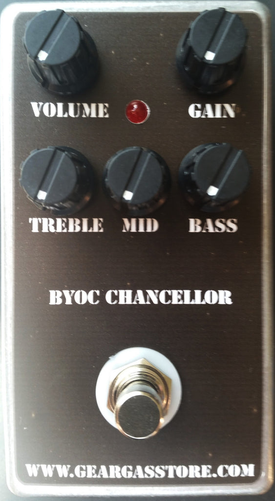 BYOC Chancellor Distortion Assembled Top