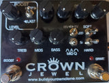 BYOC Crown Jewel Distortion Pedal New ASSEMBLED WITH One MODULE and Dry Blend