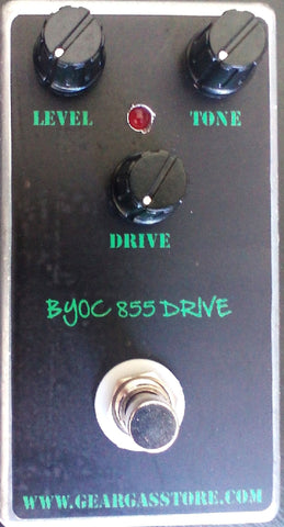 BYOC 855 Drive Overdrive Pedal Assembled
