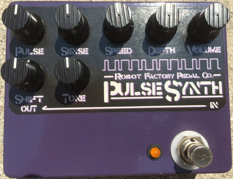 Robot Pedal Factory Pulse Synth